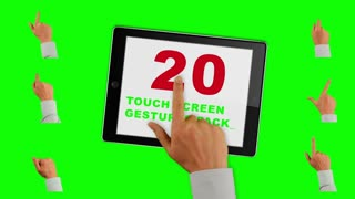 20 Gesture Touch Green Screen