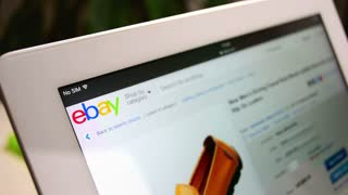Online shopping on Ebay