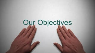 Our Objectives presentation title