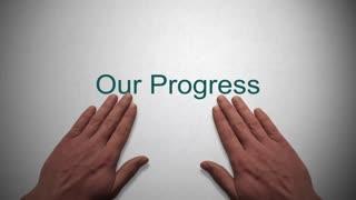 Our Progress presentation title