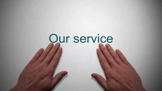 Our Service presentation title