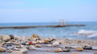 Sea beach outdoor