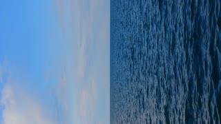 Sea vertical background