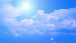 Sky Clouds Video Background