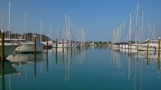 Yachts, boats in harbore