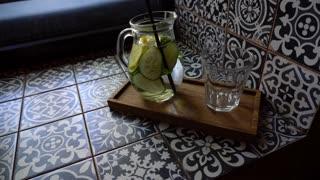 Refreshing Drink Water Cucumber
