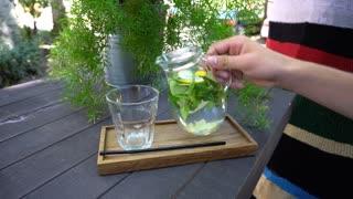 Refreshing Drink Water