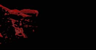 4k Blood Burst Motion Blur (With Alpha) 51