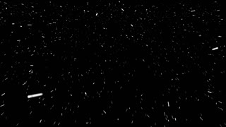 Fast Realistic Screen Snow