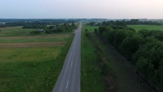 Flying Over Country Road 2