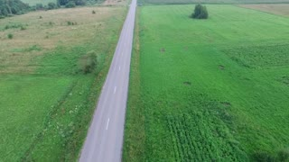 Flying Over Country Road 3