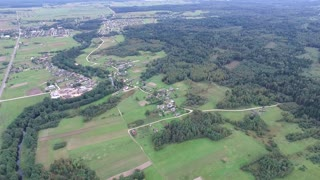 Flying Over Countryside 18