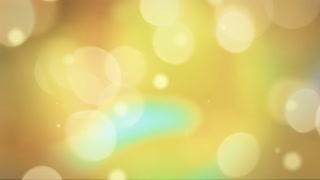 Golden Bokeh Overlay