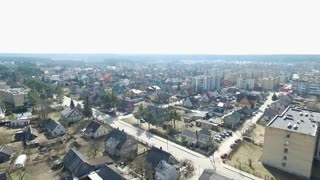 Panorama Over Small Town 1