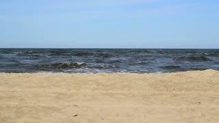 Sea Water Waves And Sandy Beach 6