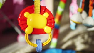 Cinemagraph Loop - colorful toys for newborn.