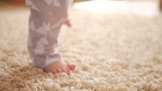 feet baby carpet learn to walk