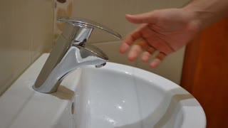 Hygiene washing cleaning hands.