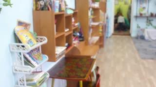 Kindergarten Classroom With No Children Inside