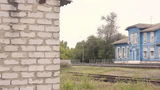 Old Train station in Russia