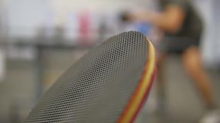 table tennis net ball racket