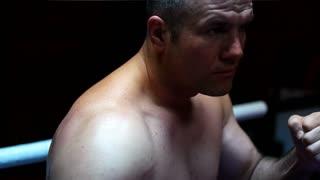 Boxer Trains In The Dark
