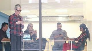 Creative Business Team Brainstorming In Meeting In Trendy startup office