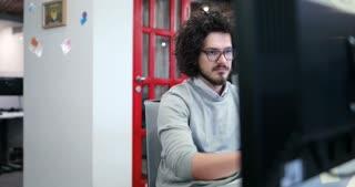 Designer working with laptop