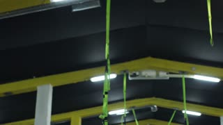 Equipment In Empty Cross-Training Gym