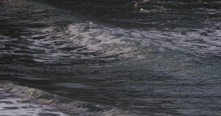 Slo-Mo Waves Breaking At Sea