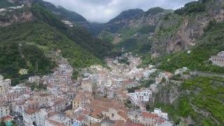 Amalfi, Italy Aerial video