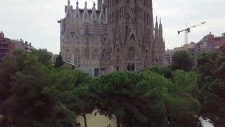 Barcelona. Sagrada Familia Church
