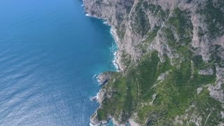 Capri island, Italy Aerial video