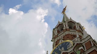 Moscow, Red Square, Kremlin and St. Basil Cathedral, time-lapse.