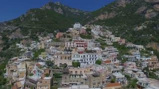 Positano, Italy Aerial video