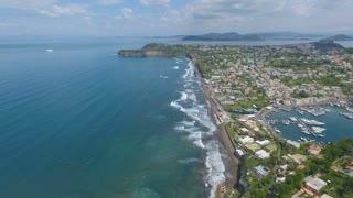 Procida, Italy Aerial video