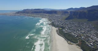 Aerial of Hermanus, South Africa