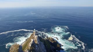 Aerial View of Light House at Cape Point