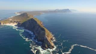 Cape Point, Cape Town High Aerial View