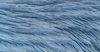 Iceland Glacier Top Shot Aerial View