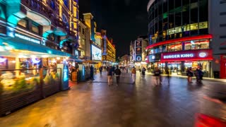 Leicester Square Timelapse Through London Streets