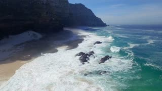 Ocean Mist Aerial View at Cape Point