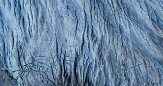 Vatnajokull Glacier Reveal Aerial Shot