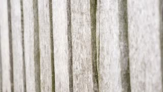 Old wooden fence outside