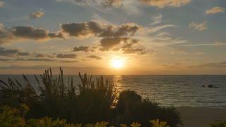 Beautiful Cyprus sunset