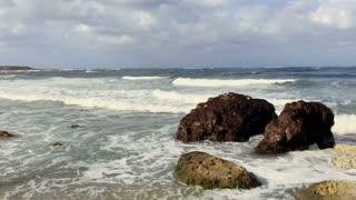 Beautiful scenery of sea
