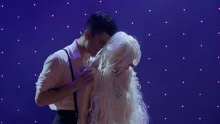 Beautiful touching love story between guy and albino girl