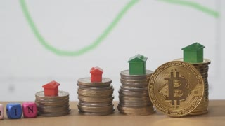 Bitcoin and selling, buying property