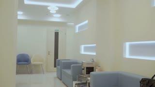 Interior design of modern clinic