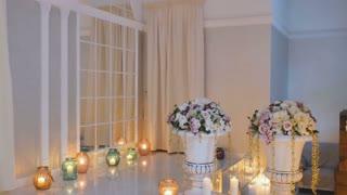 Interior of wedding hall